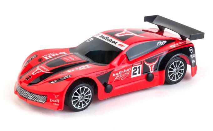 Ninco Slot auto Super GT Bullshot schaal 1:32 rood