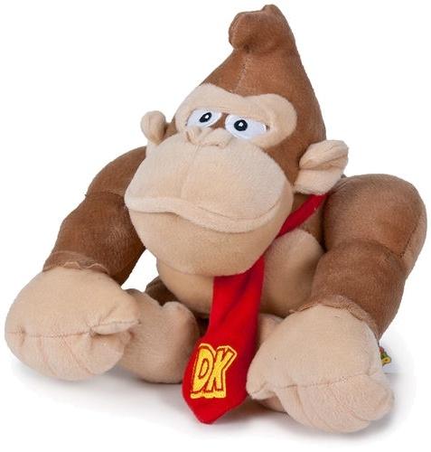 Pluche Nintendo: Donkey Kong 34 Cm