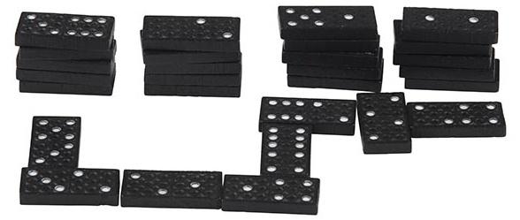 Amigo Dominostenen hout 28 stuks