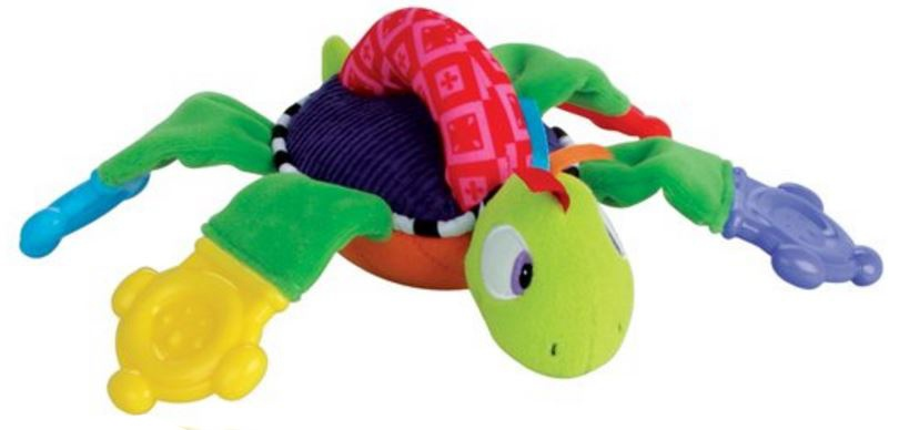 Nuby grijp en bijtfiguur schildpad multicolor 24 x 22 cm