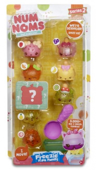 Num Noms Delux Pack: Freezie pops family serie 2