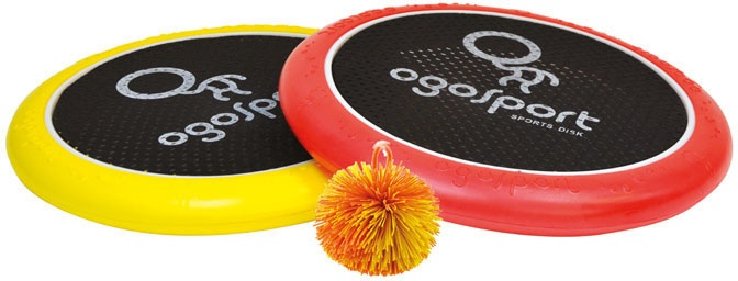 OgoSport vang en werpspel 29 cm rood/geel