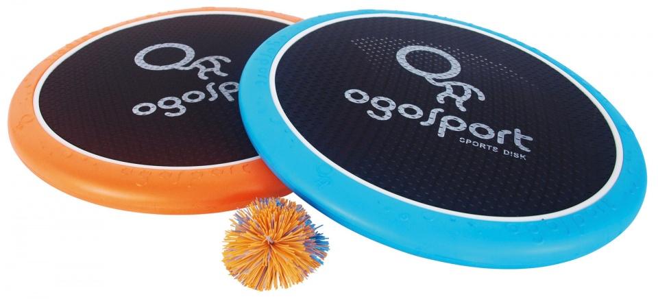 OgoSport vang en werpspel 38 cm oranje/blauw