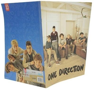 One Direction Schrift A4 Lijn Blauw