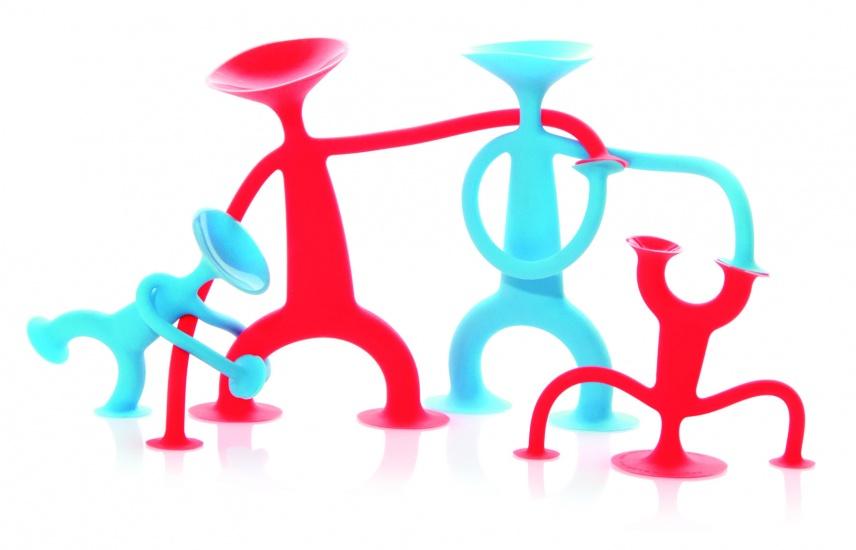 Bilibo Oogi Familie Met 4 Actiefiguren
