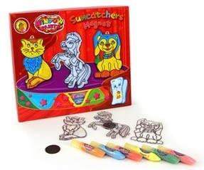 Orange Elephant Suncatchers Magneten