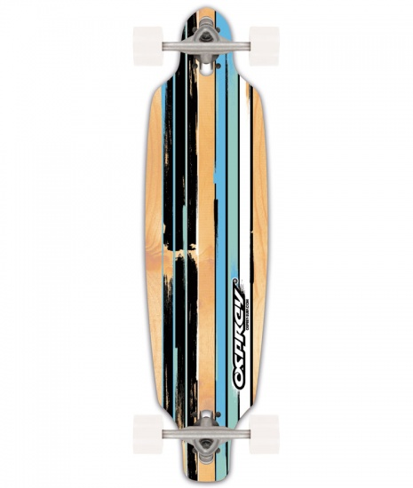 Osprey Longboard Twin Tip Drop Through Flint Blauw 99 cm