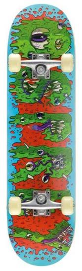Osprey Skateboard Double Kick Pro: Slime 79 cm