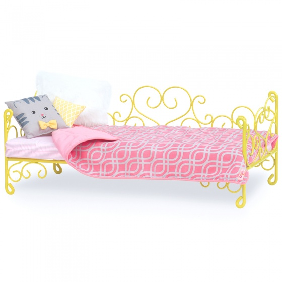 Our Generation Romantisch Bed geel