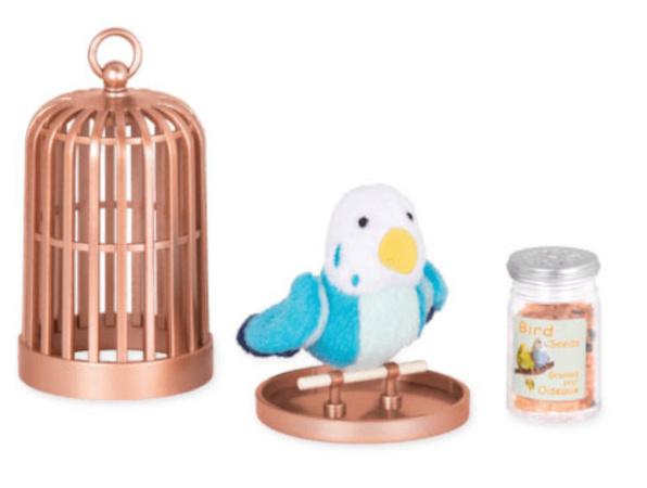 Our Generation speelset Pet Bird junior pluche blauw 3 delig online kopen