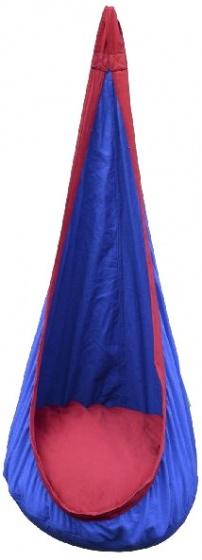 Outdoor Play schommel zitzak 70 x 70 x 140 cm blauw/rood