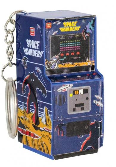 Paladone sleutelhanger Space Invaders 5,5 cm multicolor