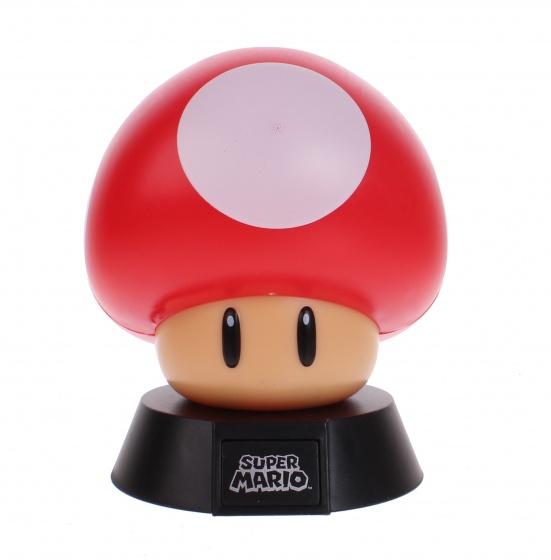 Super Mario 3D Light Mushroom 10 cm