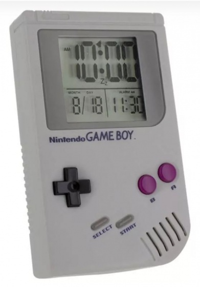 Nintendo Game Boy Alarm Clock Game Boy