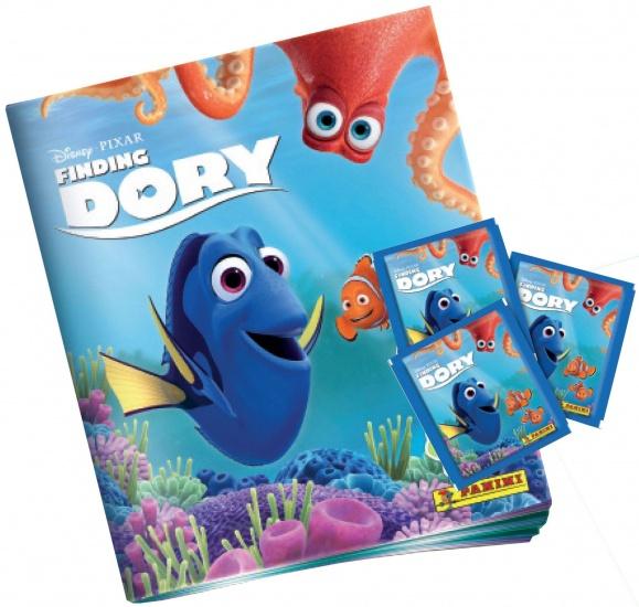 Panini starterpack Finding Dory