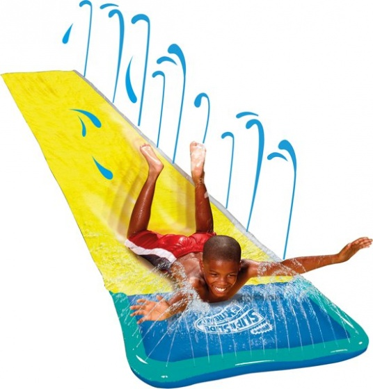 Paradiso Toys water slide Wave Rideryellow/blue 5,4 m