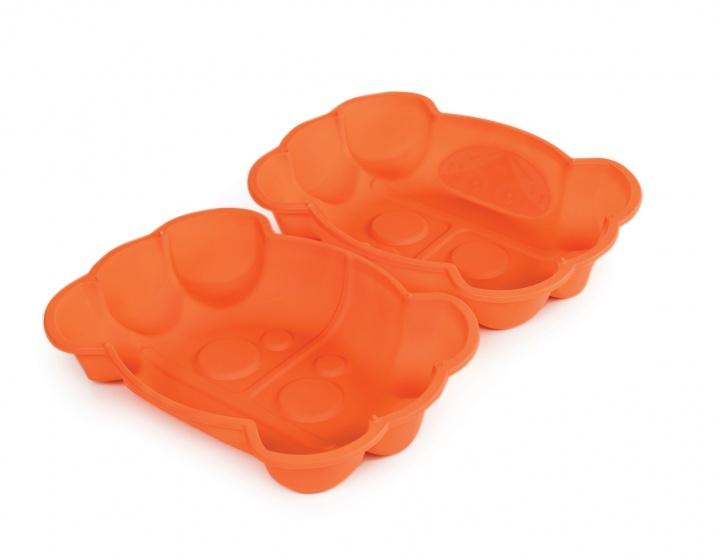 Paradiso Toys zandbak met deksel krab 96 x 68 cm oranje