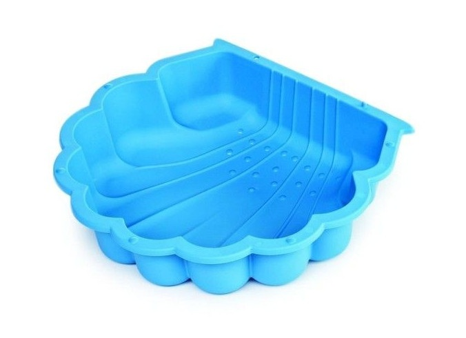 Paradiso Toys zandbak schelp junior 87 x 78 cm blauw