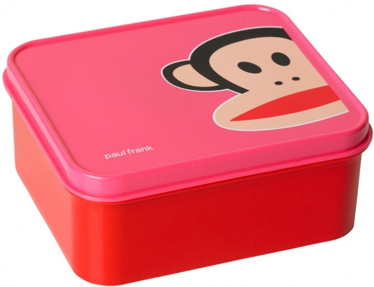 Paul Frank Lunchbox 16 x 14 x 7 cm rood