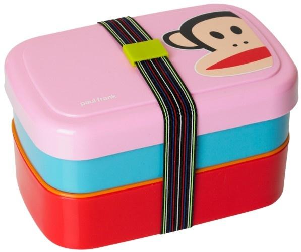 Paul Frank Lunchbox 3 Delig Met Band Roze
