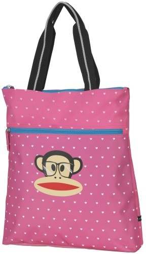 Paul Frank Shopper Roze Hartjes