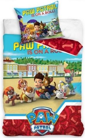 Nickelodeon PAW Patrol dekbedovertrek 140 x 200 cm multicolor