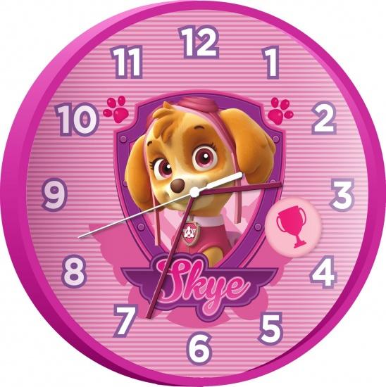 Nickelodeon PAW Patrol klok 25 cm roze