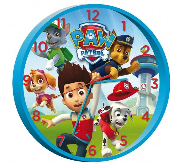 Nickelodeon PAW Patrol klok 25 cm blauw
