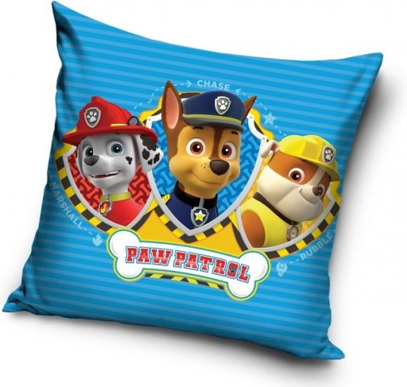 Nickelodeon PAW Patrol kussen 40 x 40 cm blauw