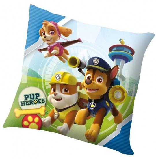 Nickelodeon PAW Patrol kussen pup heroes 40 x 40 cm