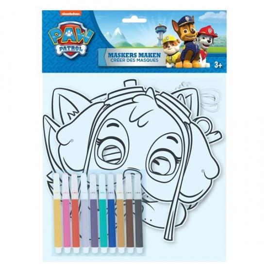 Nickelodeon PAW Patrol maskers maken