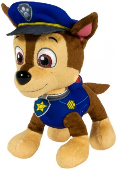 Nickelodeon PAW Patrol pluche knuffel Chase 25 cm