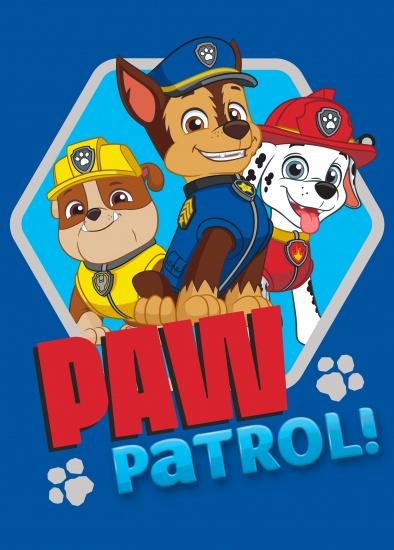 Nickelodeon PAW Patrol vloerkleed 95 x 133 cm blauw