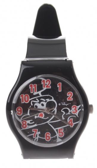 PB horloge Smurfen zwart 3 cm