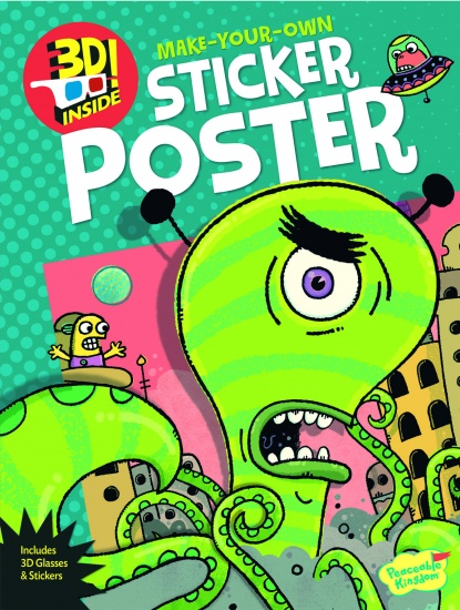 Peaceable kingdom activiteiten posterboek alien attack 74219