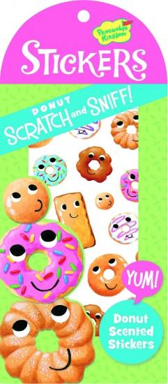 Peaceable Kingdom Geurstickers Donut 34 Stuks