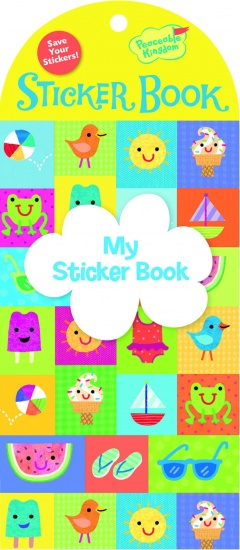 Peaceable Kingdom Stickerboek Sunny Days