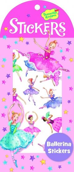 Peaceable Kingdom Stickers Ballerina's 22 Stuks
