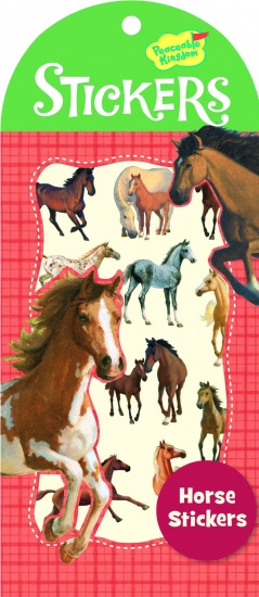 Peaceable Kingdom Stickers Paard 24 Stuks