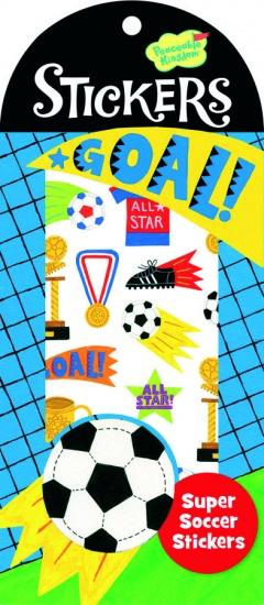 Peaceable Kingdom Stickers Voetbal 34 Stuks
