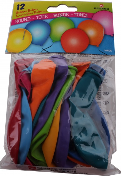 Pegaso ballonnen groot 32 cm 12 stuks