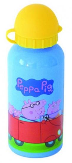 Peppa Pig Bidon Aluminium 400 ml blauw