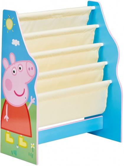 Peppa Pig boekenrek blauw 60 x 23 x 51 cm
