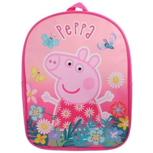 Peppa Pig rugtas vlinders roze 6 liter