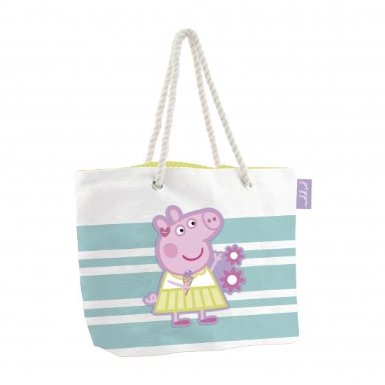 Peppa Pig strandtas/shopper 18 liter kopen