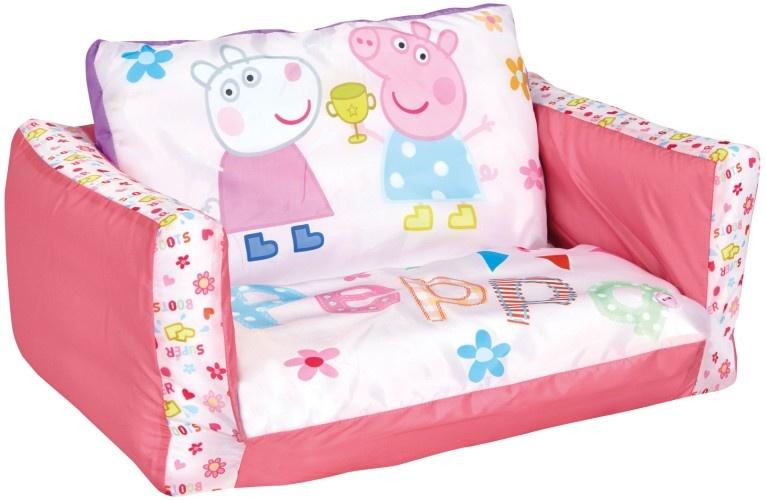 Peppa Pig Uitklapbaar Stoeltje 105 X 68 X 26 cm Roze