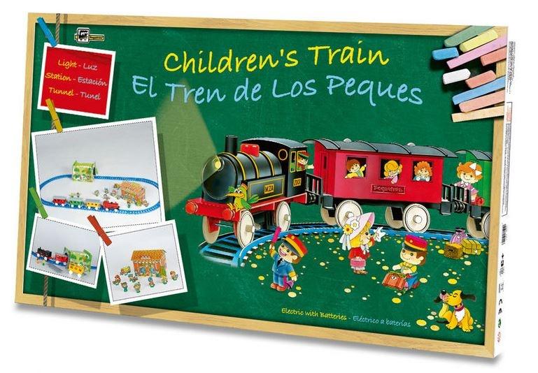 Pequetren Startset batterij 2001 kinderen treinreis