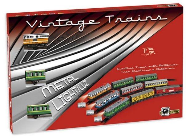 Pequetren Startset batterij 201 Classic passagiers trein