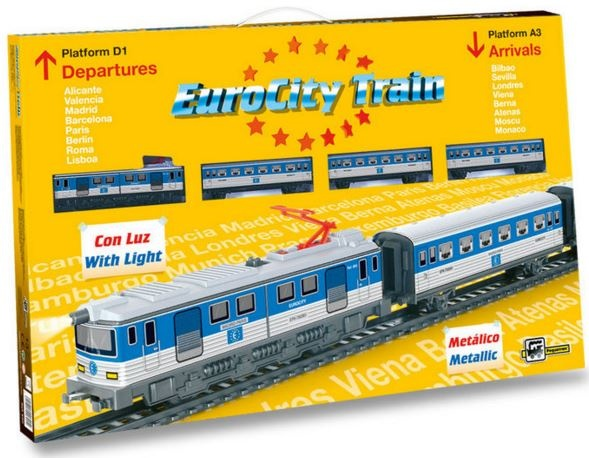 Pequetren Startset batterij 690 Classic Eurocity