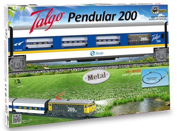 Pequetren Startset batterij 975 Classic Talgo pendel